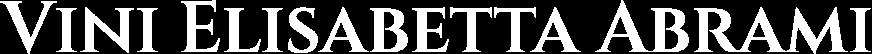 Logo Elisabetta Abrami Vini